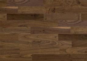 Паркетная доска Baltic Wood Орех Американский Comfort Трехполосная